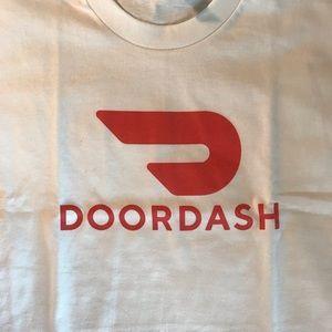 Men's sizes DoorDash Logo Shirt New Tee NWT